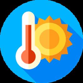 Obtenha a taxa de concepção por temperatura retal