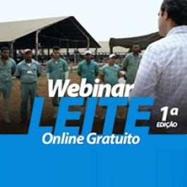 1ª Edição Webinar LEITE - Online Gratuito