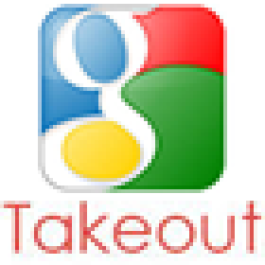 Baixe tudo o que está guardado nos servidores Google