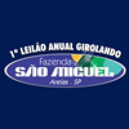 Fazenda São Miguel (Areias, SP): 1º Leilão Anual Girolando
