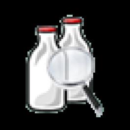 Exemplo de arquivo para importação de análise de leite