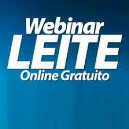 Webinar LEITE - Online Gratuito ao vivo - 25 de outubro