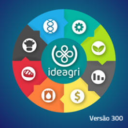 Instalador do IDEAGRI, dividido em 3 arquivos
